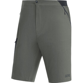 GORE WEAR R5 Short running Homme, castor grey/black